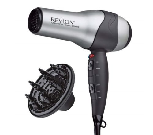 7.Revlon 1875W Volumizing Turbo Hair Dryer