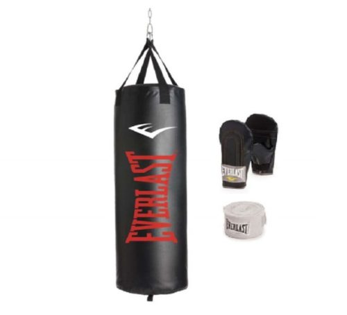 1.Everlast Traditional Heavy Bag kit (100)