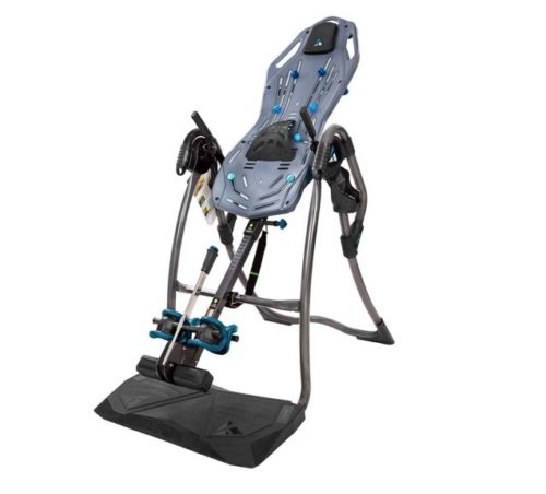 11.Teeter FitSpine LX9 Inversion Table, 2019 Model, Deluxe Easy-to-Reach Ankle Lock, Back Pain Relief Kit, FDA-Registered (LX9)