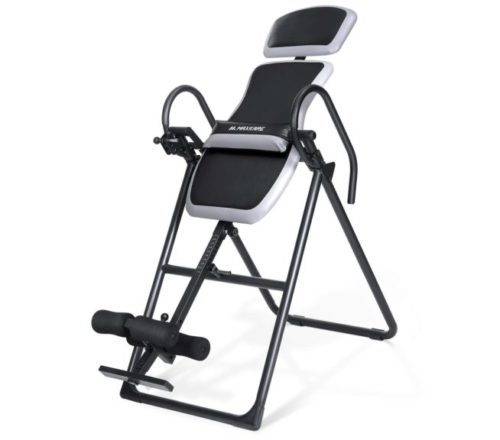 13.MaxKare Inversion Table with Adjustable Headrest and Lumber Support for Back Pain Relief