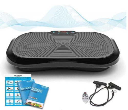 15.Bluefin Fitness Vibration Platform Ultra Slim Built-in Bluetooth Speakers Silent Drive Motor Ideal for Toning and Weight Loss Machine