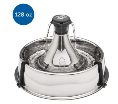 3.Drinkwell 360 Fountain Stainless Steel