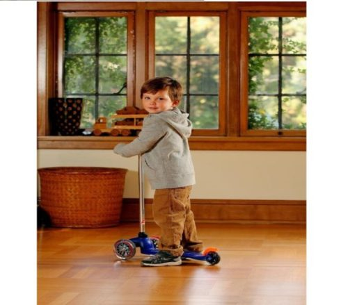 3.Micro Kickboard MM0283 Micro Mini Kick Scooter, Blue, Ages 2-5