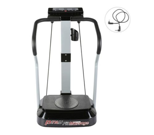 4.Pinty 2000W Whole Body Vibration Platform Exercise Machine with MP3 Player (99 Speed Levels)