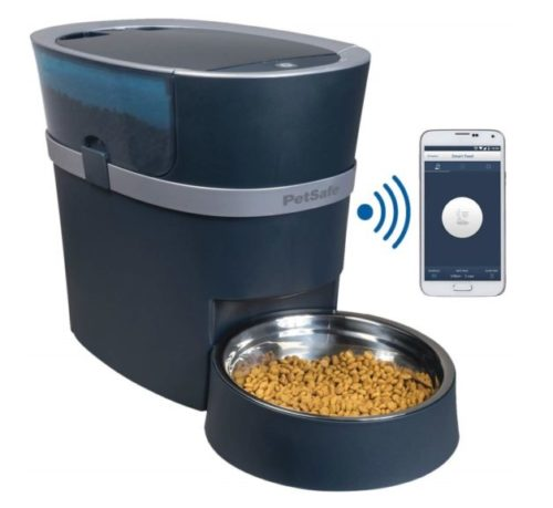5.PetSafe Smart Feed Automatic Dog and Cat Feeder, Wi-Fi Enabled Pet Feeder, Smartphone App for iPhone and Android