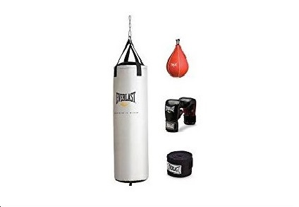 6.Everlast Platinum Heavy Bag Kit