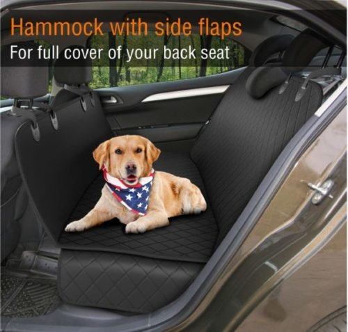 7.Dog Back Seat Cover Protector Waterproof Scratchproof Nonslip Hammock for Dogs Backseat Protection Against Dirt and Pet Fur Durable Pets Seat Covers for.