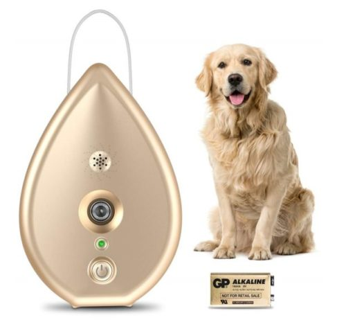 7.Modus Automatic Anti Barking Device, Dog Barking Control Device with 4 Adjustable Ultrasonic Level Control, Ultrasonic Dog Bark Deterrent Indoor Bark Box