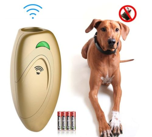 8.Ina Ella Ultrasonic Dog Barking Control Devices Anti Barking Device Dog Training Aid Handheld Dog Bark Trainer Stop Barking for Walk a Dog Outdoor with