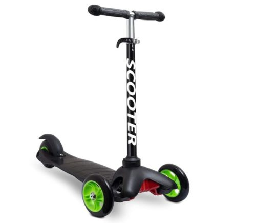 8.Scooters for Kids Toddler Scooter - Deluxe Aluminum 3 Wheel Glider w Kick n Go, Lean 2 Turn Wheels, Step 4 Brake, Toddlers Training Three Wheeled Kid Ride