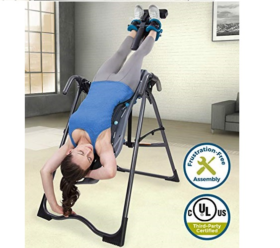 8.Teeter FitSpine X-Series Inversion Table, 2019 Model, Back Pain Relief Kit, FDA-Registered (X2)
