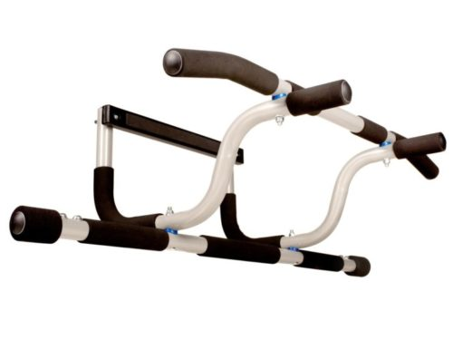 8.Ultimate Body Press XL Doorway Pull Up Bar with Elevated Bar & Adjustable Width