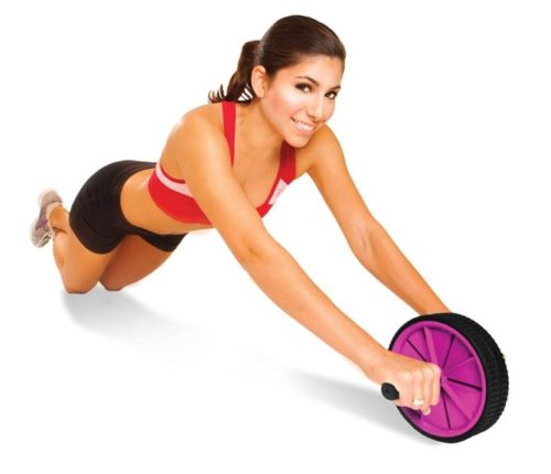 8.Tone Fitness Ab Roller Wheel for Abs Workout Ab Roller Exercise Equipment & Accessories