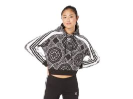 12.PUMA Women's Rebel Reload Cropped Hoodie