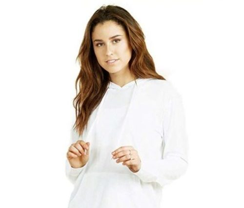 12.Womens Pullover Cotton Light Hoodie Sweater