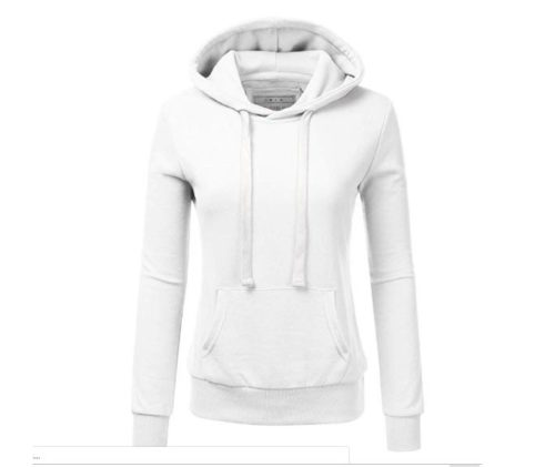 3.NINEXIS Womens Long Sleeve Fleece Pullover Hoodie Sweatshirts