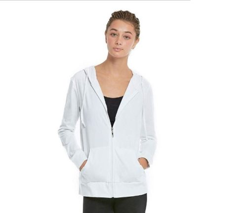 5.Women's Zip Up Cotton Light Hoodie Jacket