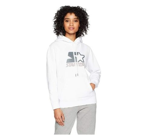 9.Starter Women's Pullover Multi-Color Logo Hoodie, Amazon Exclusive