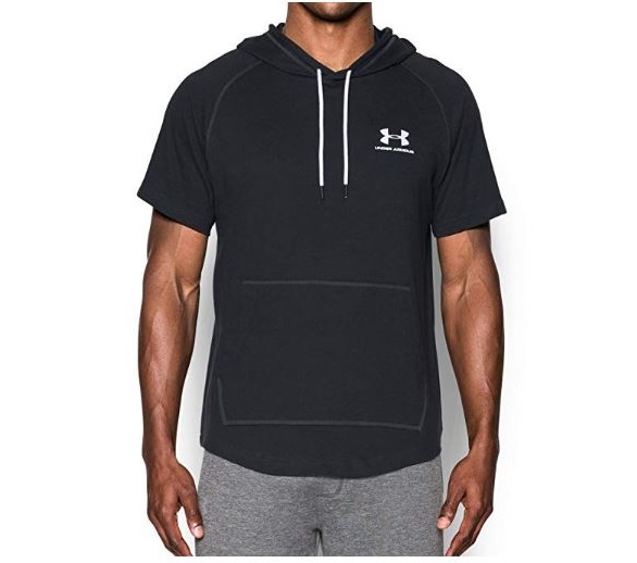 9.Under Armour Men Sportstyle Short Sleeve Hoodie