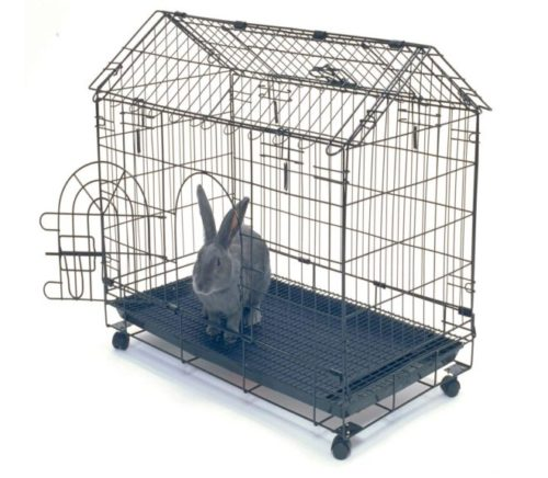 1.Kennel-Aire A Frame Bunny House