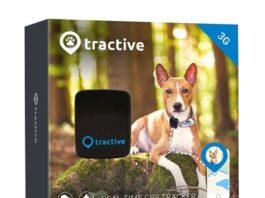 1.Tractive 3G GPS Dog Tracker – Lightweight and Waterproof Dog Tracking Device with Unlimited Range