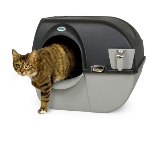 10.Omega Paw EL-RA20-1 Roll N Clean Self Separating Self Cleaning Litter Box
