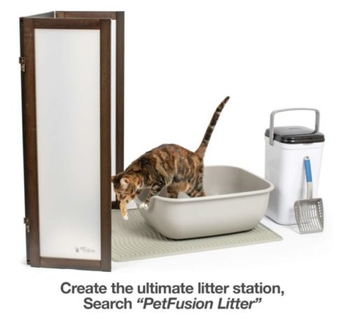 11.PetFusion Large Litter Box (the BetterBox). NON-STICK Coating (FDA, EPA approved) significantly reduces cleaning time. (Vets