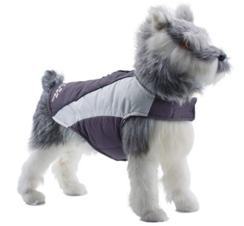 11.ThinkPet Soft Touch Waterproof Jacket, Warm Winter Dog Coat, Highly Visible Reflective Dog Vest