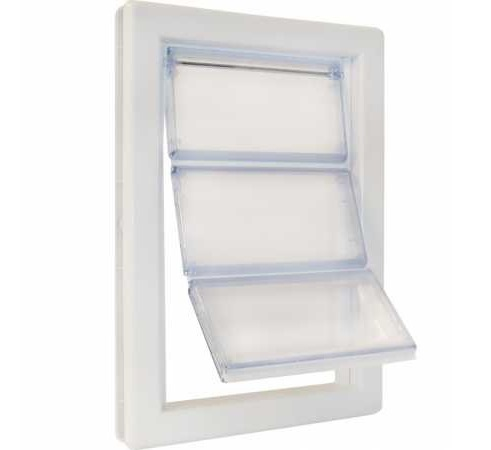 13.Ideal Pet Products Air Seal Pet Door with Telescoping Frame