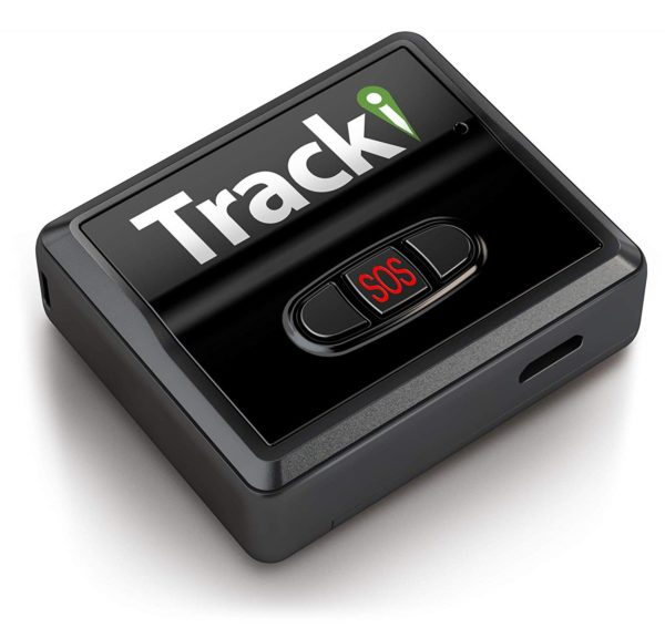 5.Tracki 2019 Model Mini Real time GPS Tracker. Full USA & Worldwide Coverage. For Vehicles, Car, Kids, Dog, pet cat child elderly drone motorcycle bike auto.