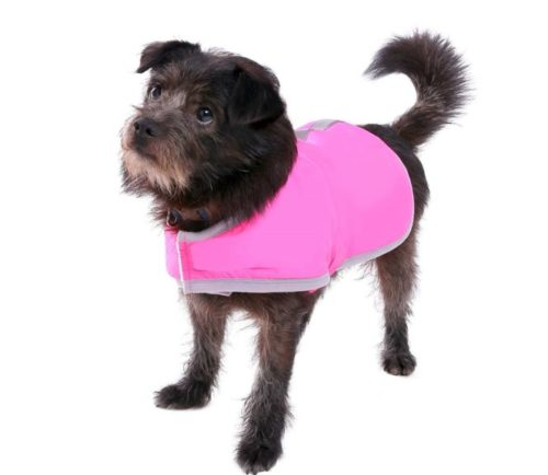 6.Queenmore Cold Weather Dog Coats Loft Reversible Winter Fleece Dog Vest Waterproof Pet Jacket Available in Extra Small, Small, Medium, Large Extra Large Sizes