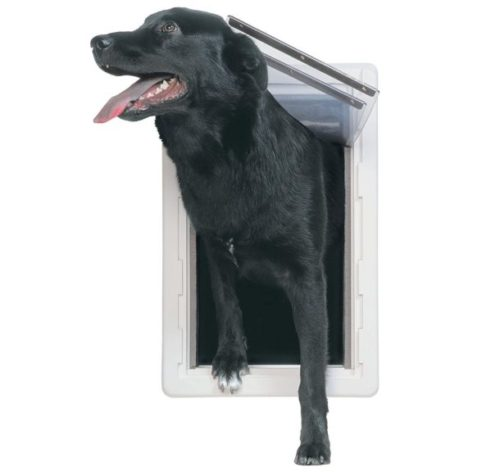 9.PERFECT PET The All-Weather Energy Efficient Dog Door