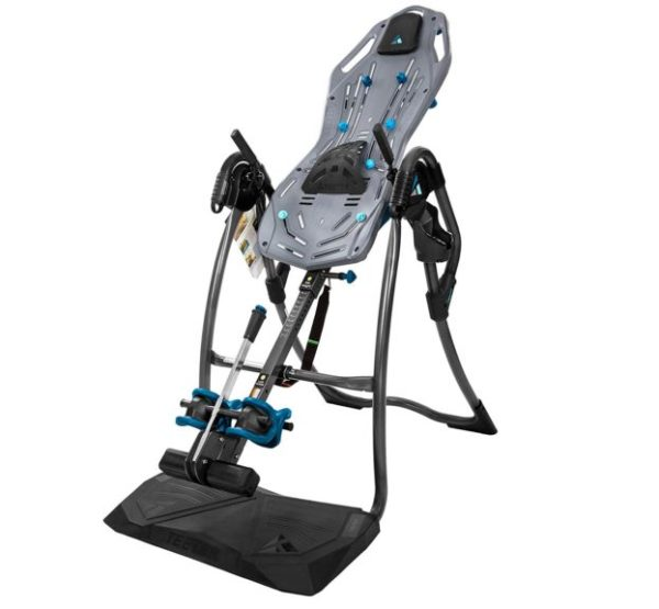 11. Teeter FitSpine LX9 Inversion Table, 2019 Model, Deluxe Easy-to-Reach Ankle Lock