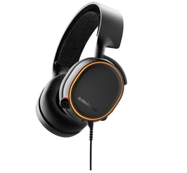15. SteelSeries Arctis Illuminated Gaming Headset with DTS Headphone