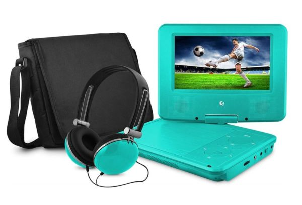 6. Ematic Portable DVD Player - 7-Inch High Resolution LCD Display