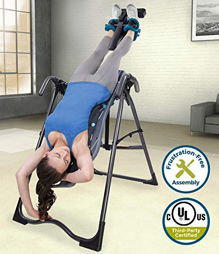8. Teeter FitSpine X2 Inversion Table, 2019 Model, Extended Ankle Lock Handle