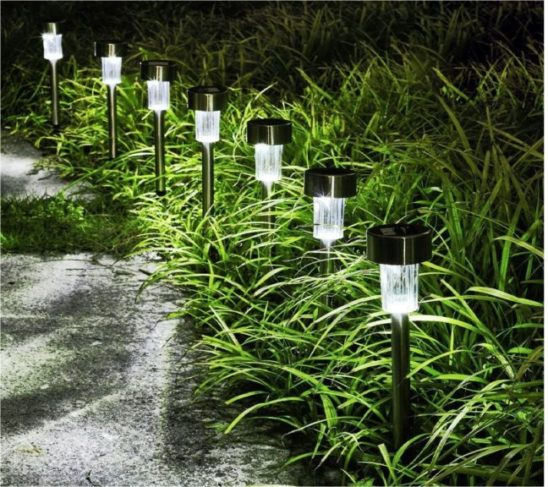 1.GIGALUMI Solar Lights Outdoor Garden Led Light