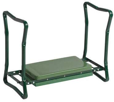 1.Gardener's Supply Company Extra Wide-Seat Folding Garden Kneeler Green