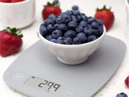 1.GreaterGoods Digital Food Kitchen Scale
