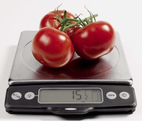 10.Good Grips Stainless Steel Food Scale