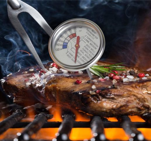 11.Roasting Meat Thermometer T729E,Stainless Steel