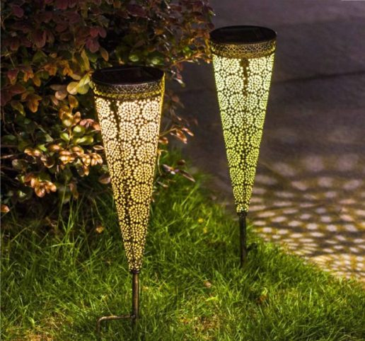 12.TAKE ME Solar Pathway Lights Garden