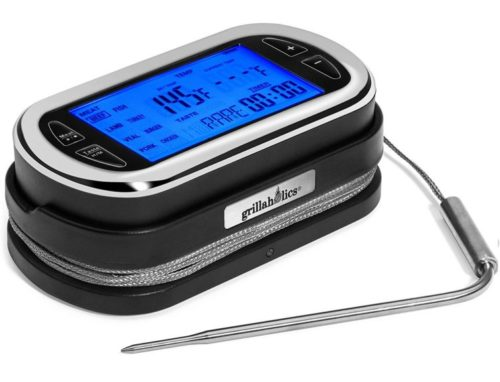 13.Grillaholics Meat Thermometer for Smoking - Remote Wireless Digital Meat Cooking