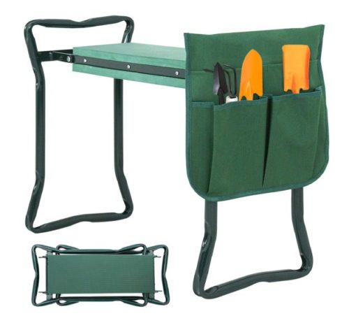 13.Newest Folding Garden Kneeler and Seat with Free Tool Pouches