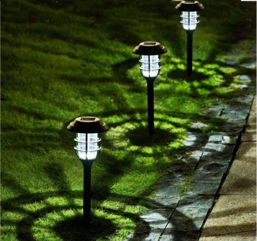 14.Solpex 8 Pack Solar Pathway Lights Outdoor