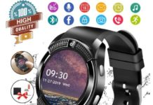 3.Smart Watch, Bluetooth Smartwatch Touch Screen Wrist