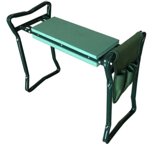 3.SueSport Folding Garden Bench Seat Stool Kneeler
