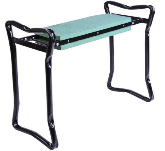 4.Outsunny Padded Garden Kneeler and Seat Bench
