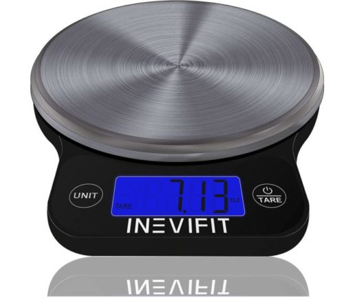 6.INEVIFIT DIGITAL KITCHEN SCALE, Highly Accurate