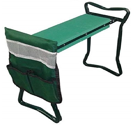 7.Heavy Duty Folding Garden Kneeler and Seat for Weeding and Portable Garden